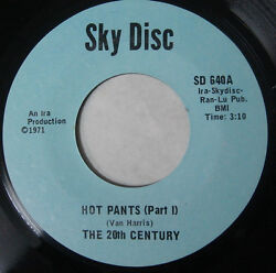 The 20th Century ‎ Hot Pants SKY DISC SD 640 RARE FUNK SOUL MINT 45 $59.99
