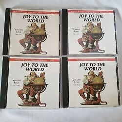 Joy to the World Volume Four Discs 1 - 4 CD Set Country Folk Pops Classical