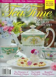 Tea Time    May - June 2019