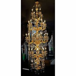 New Gold Chandelier 39Dia Ceiling Lights Lamp Free Shipping