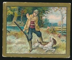 1910 T57 Turkish Trophies FABLE SERIES (1-50) -The Old Hound