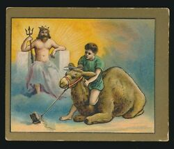 1910 T57 Turkish Trophies FABLE SERIES (1-50) -Jupiter & The Camel