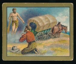 1910 T57 Turkish Trophies FABLE SERIES (1-50) -Hercules & The Wagoner (Fac 30)