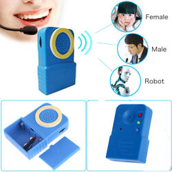 Portable Wireless Multi Voice Changer Microphone Disguiser For Mobile Phone