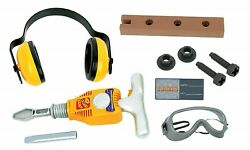 Junior Engineer Jackhammer Toy Construction Tool Drill with Earmuffs