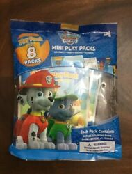 PAW PATROL Mini Play 8 Packs Nickelodeon Party Favors Classroom Giveaway New $9.99