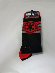 MENS STAR WARS SOCKS ROGUE ONE 2 Different Pair $12.95