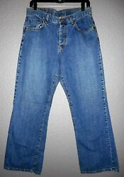 Lucky Brand Jeans  Low Rise Easy Fit Flare 40 100% Cotton SZ 1231