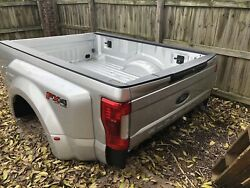 NEW 2017-2019 FORD F350 F450 SUPERDUTY DRW TRUCK BED WITH GATE & SENSOR LIGHTS