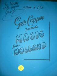 Ger Copper Presents Magic from Holland - Autographed