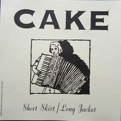 * DISC ONLY * CD SINGLE PROMO Cake ‎– Short Skirt Long Jacket $19.95