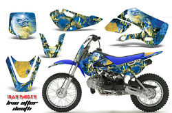 Decal Graphic Kit Wrap For Kawasaki KLX 110 2002-2009 KX 65 2002-2018 IM LAD