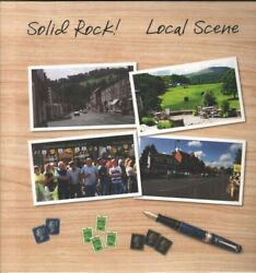 SOLID ROCK Local Scene LP VINYL Europe Solid Rock 2015 10 Track With Insert and GBP 3.06