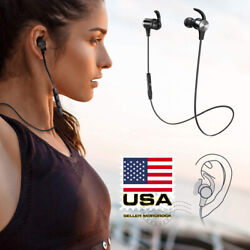 TaoTronics Waterproof Sport Bluetooth Headset Wireless Headphones In-Ear Earbuds