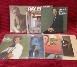 Ray Price 7 LP MINT She Wears My Ring Sweeheart of the Year For the Good Times