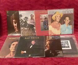 Ray Price 8 LP MINT The Lonesomest Lonesome Hank n Me She's Got to Be a Saint