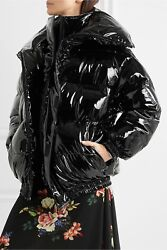 SOLD OUT Vetements Miss Webcam Vinyl Puffer Jacket - Black - XS - Current Style