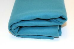 New Pendleton Bright Blue Solid Blanket Weight wool fabric by the yard