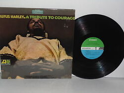 RUFUS HARLEY A Tribute To Courage LP Vinyl Stereo CSG SC1504 About Trane Ali X