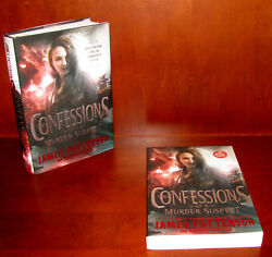 Confessions of a Murder Suspect James Patterson ** Signed 1st Ed + Proof * ARC