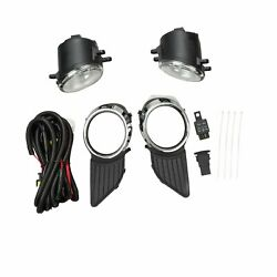 Bumper Driving Fog Lights Lamp Switch Wiring Bulb Fits 11 17 Toyota Sienna $33.89