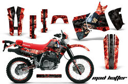 Decal Graphic Kit MX Sticker Wrap + # Plates For Honda XR650L 1993-2018 MAD K R