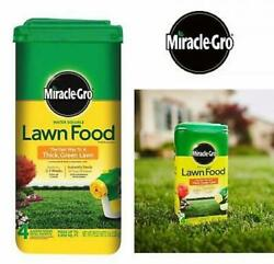 Miracle Gro Lawn Fertilizer 5 Lbs Water Soluble Fast Grow Thick Green Grass Food $35.95