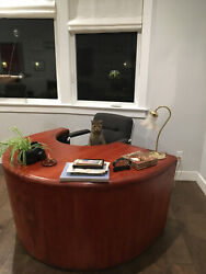 Amazing art deco vintage desk The Boatmen's National Bank of St Louis $300.00
