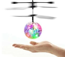 Flying Disco Ball Mini LED Helicopter Ball Perfect Birthday Or Christmas Gift $15.00