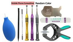 Phone Screen Opening Repair Tools Kit Screwdriver Set for iPhone XS Max XR 8 7 6 $9.95