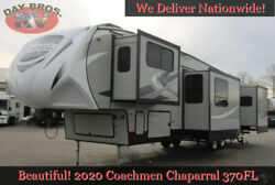 20 Coachmen Chaparral 370FL Towable RV 5th Wheel Travel Trailer Camper 5 Slides