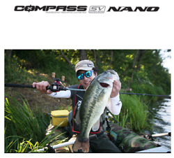 BANAX cost-effectiveness bass rod Compass sv nano 2 piece for baitcasting reel  $139.00