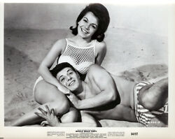 Annette Funicello Frankie Avalon Muscle Beach Party 14 x 11quot; Photo Print $19.95