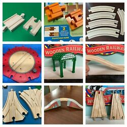 Wooden Railway Thomas Trains Specialty Track Bridge Brio Melissa amp; Doug Tunnel $8.00