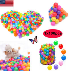 200100pcs Ocean Ball Soft Plastic Swim Pit Pool Toys Funny Baby Kids Toys Gift