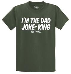 Mens I#x27;m The Dad Joke King T Shirt Father Day Father Husband $11.50