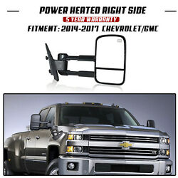 Power+Heated+Arrow Lights Tow Mirrors Fit For 03-06 Chevy Silverado Sierra