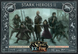 A Song of Ice and Fire Miniature Game Stark Heroes 2 NEW $28.00