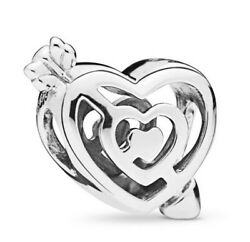 Charms Beads Bracelets Path to Love Genuine 925 Sterling Silver Jewelry