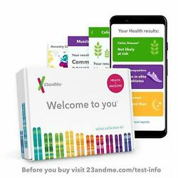 New 23andMe DNA Test Health + Ancestry Personal Genetic Service 125+ Reports
