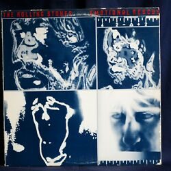 THE ROLLING STONES EMOTIONAL RESCUE LP US 1980 EX INCLUDES; SHE'S SO COLD