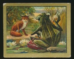 1910 T57 Turkish Trophies FABLE SERIES (51-100) -The Quack Frog (Quackery)
