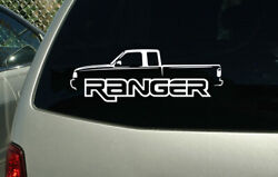 Ford Ranger decal sticker truck wall graphic