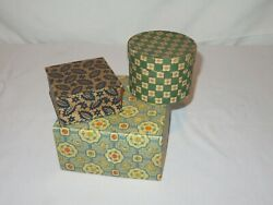 Vintage Box Boxes Made in Italy France R229 $14.66