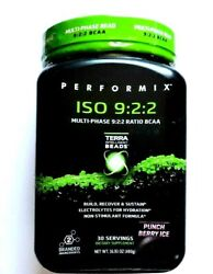 PERFORMIX ISO 9:2:2 Multi Phase BCAA 30servings Punch Berry Ice exp. 42020