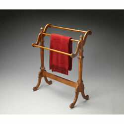 Butler Specialty Company Newhouse Vintage Oak Blanket Stand - 1910001