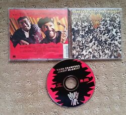 Crunch Time CD by Hank Crawford & Jimmy McGriff Milestone Music 1999 Jazz OOP