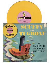 Little Golden Record Scuffy the Tugboat Mitch Miller Sandpipers 1950
