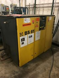 1999 BS61 Kaeser Rotary Screw Air Compressor 50 HP  $6,800.00