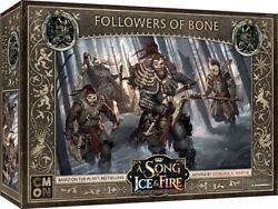 A Song of Ice and Fire Miniature Game Free Folk Followers of Bone NEW $28.00